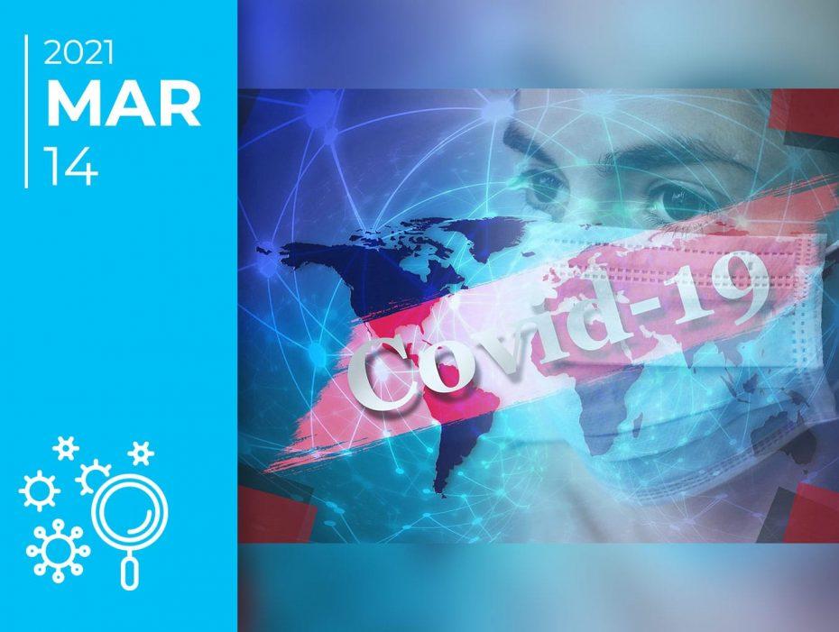 Covid-19 pelo mundo afora: 14-03-21