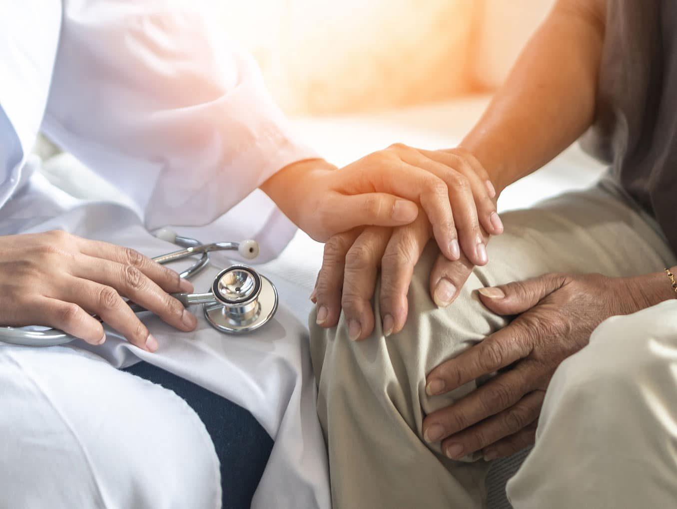 Os médicos têm duas coisas para oferecer ao paciente