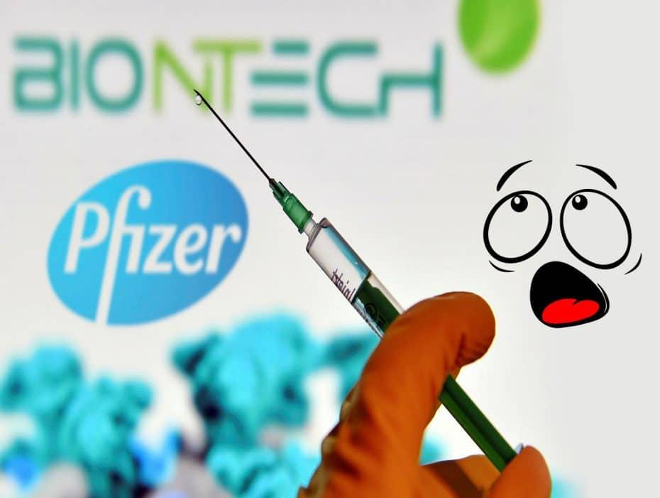 """A """"vacina da Pfizer"""". Efeitos colaterais?"""