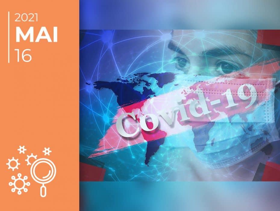 Covid-19 pelo mundo afora: 16-05-21