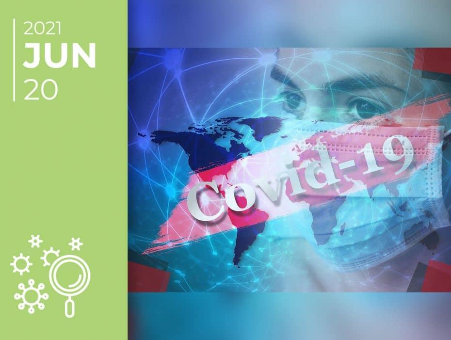 Covid-19 pelo mundo afora: 20-06-21